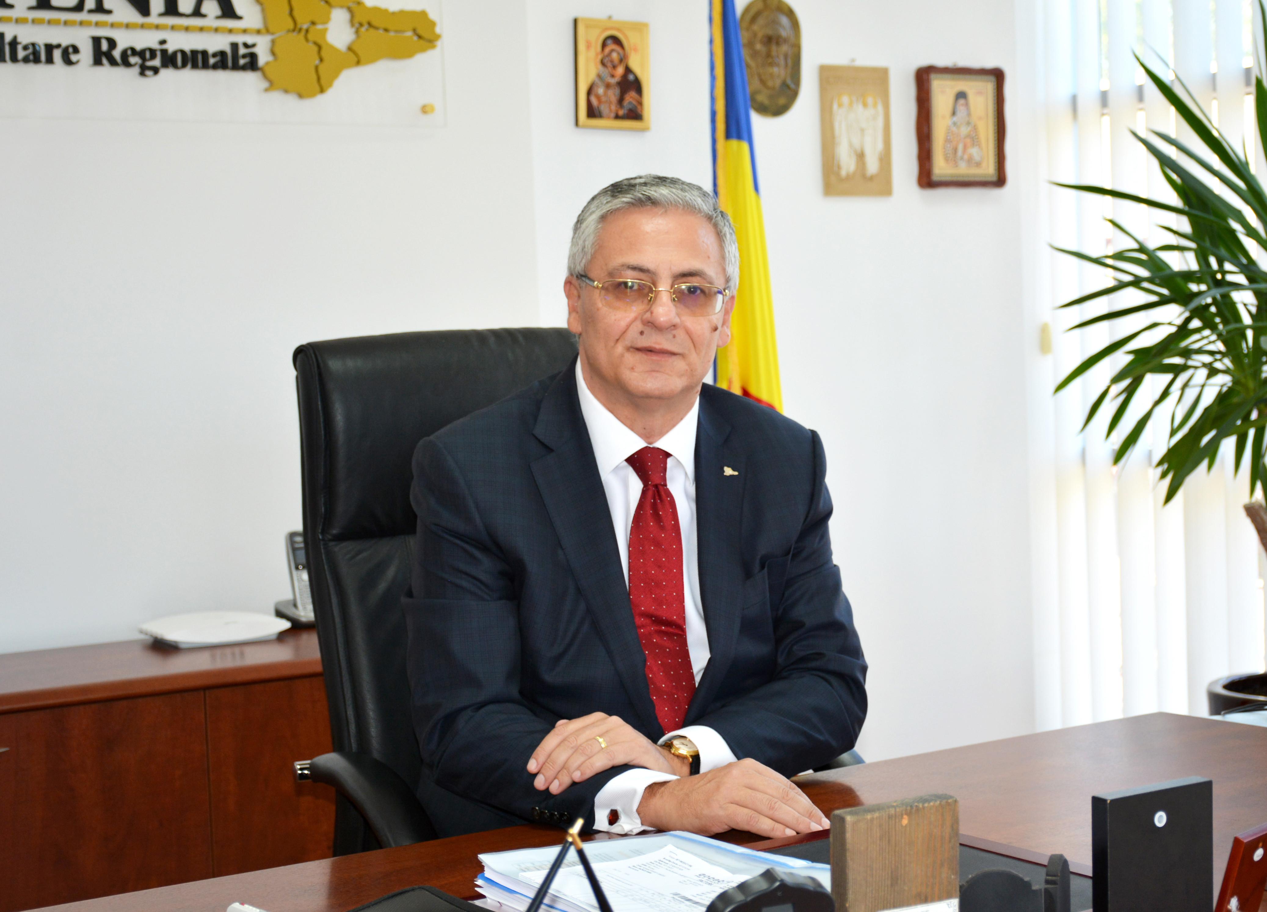 Liviu Gabriel Mușat, directorul general al Agenției pentru Dezvoltare Regională Sud Muntenia